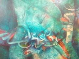 خمسون عملاً تشكيلياً في معرض جماعي احتفاءاً بابراهيم الصلحي .. شاهد الصور