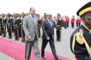 الرئيس الصومالي يبدأ زيارة نادرة لإريتريا