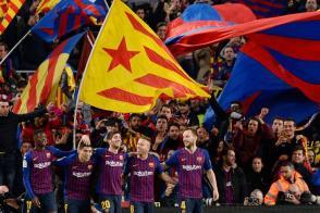 خماسية تاريخية لبرشلونة في مرمى غريمه ريال مدريد
