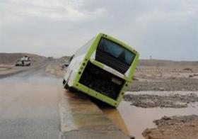 السيول تعزل  بورتسودان عن أطرافها
