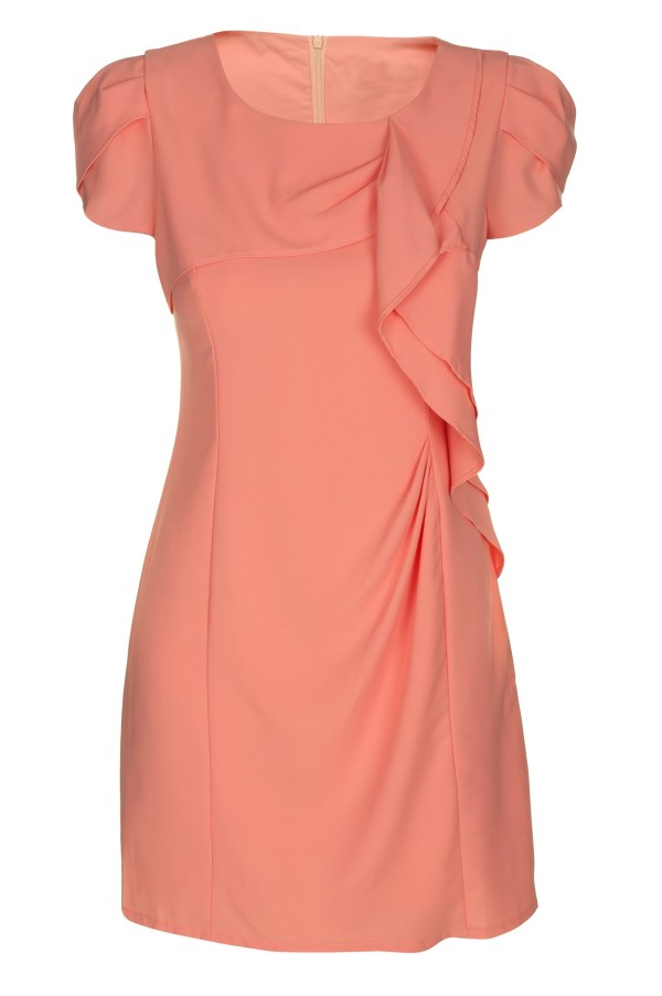 Sukienka mini z falbana Fervent packshot front
