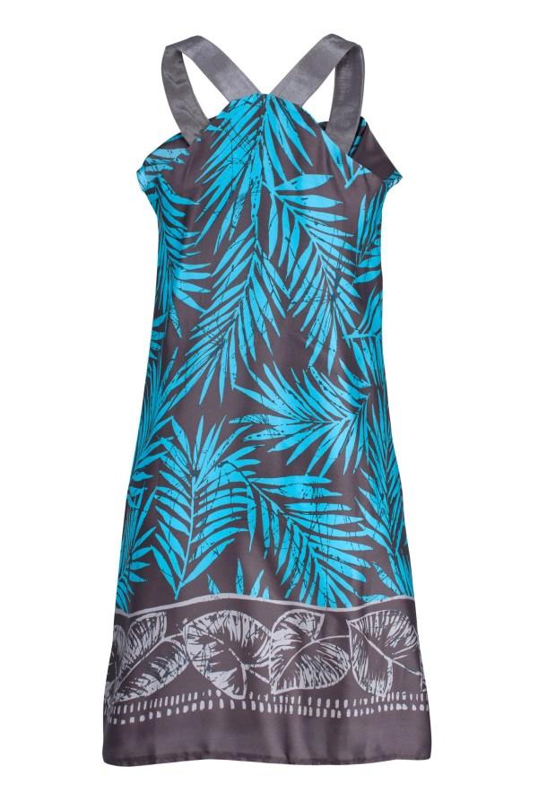 Sukienka mini z naszyjnikiem packshot back