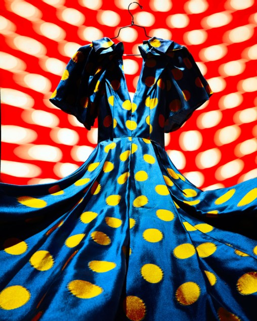 Sukienka w kropki: Carolina Herrera