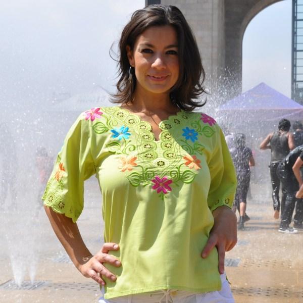 Tunique mexicaine brodée Alegría