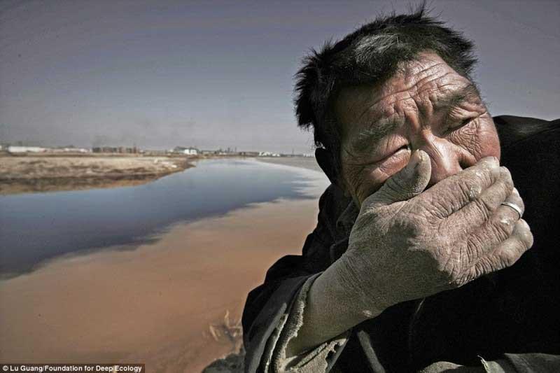 Cheiro insuportável do Rio Amarelo, Mongólia