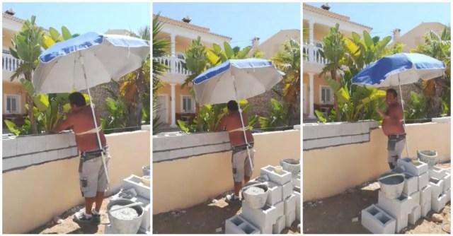 trabalhar ao sol