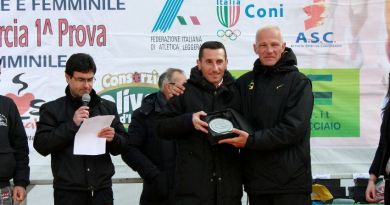 Premiazioni 1^ Tappa Puglia in Marcia