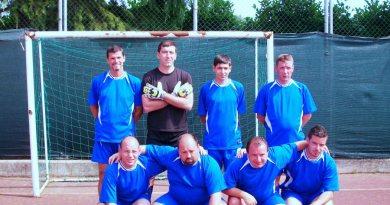 La squadra di calcio della Polisportiva Plympià