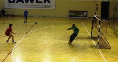 Pallamano Altamura - Polisportiva Serra: un'azione di gioco