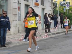 Antonella Palmisano durante l'edizione 2010 della manifestazione altamurana