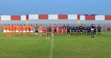 New Academy Bari - Basilicata: le squadre prima del fischio iniziale