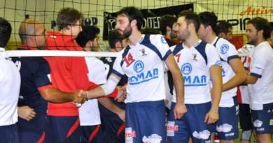 Parco Gancia Potenza - Domar Volley: il saluto a fine gara