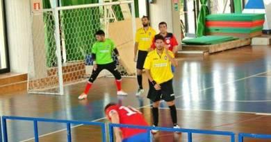 Torre Rossa - Pellegrino sport: un'azione di gioco