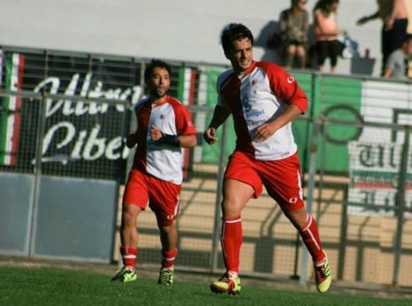 Antonio Chisena, con la maglia dello Sporting Altamura