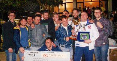 Open 5, la premiazione dell'Inter
