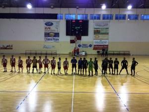 Città di Altamura - Giovani Aquile: il saluto pre-partita