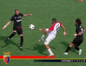 Una fase di gioco (© foto FC Casertana)