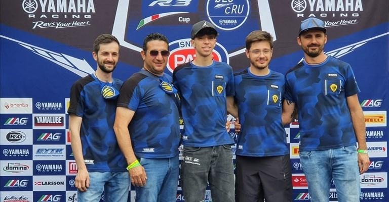Raffaele Tragni, il giovane talento altamurano delle 2 ruote © High Wall Racing Team
