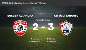 Soccer Altamura - Città di Taranto C5 2-3 (photo credits Tuttocampo.it)