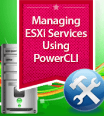 Manage ESXi services using PowerCLI