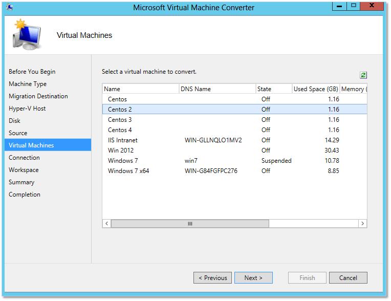 How to convert a Hyper-V vm to run on vSphere