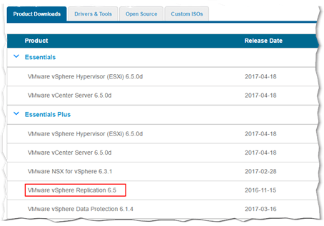 Disaster Recovery using vSphere Replication - Part 1