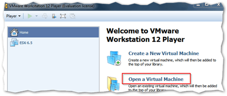 Installing vCenter Server Appliance