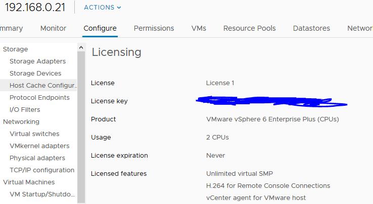 vmware player license expired
