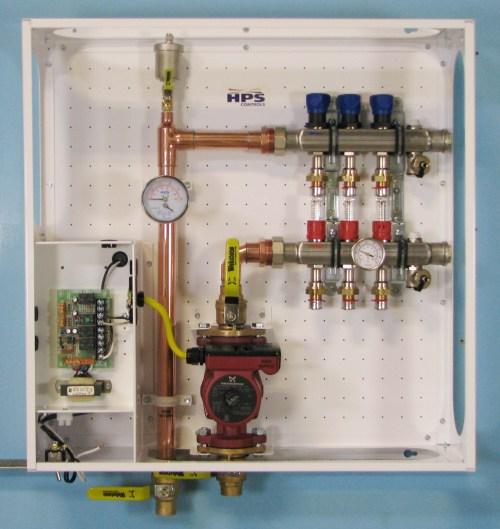 small resolution of heating manifold station