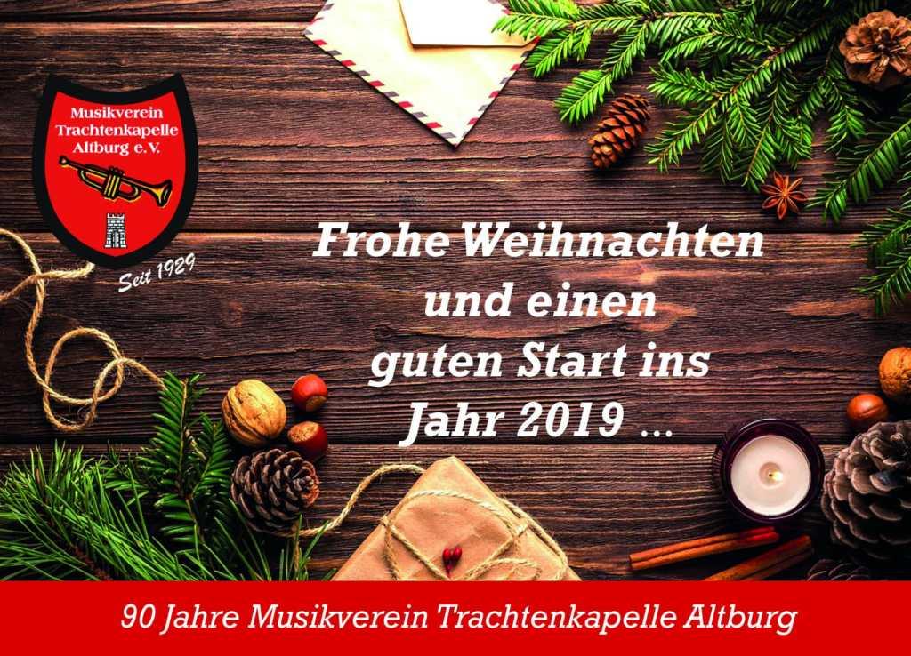 Weihnachten 2019 Musik.2019 Ein Jahr Voller Musik Und Genuss Musikverein
