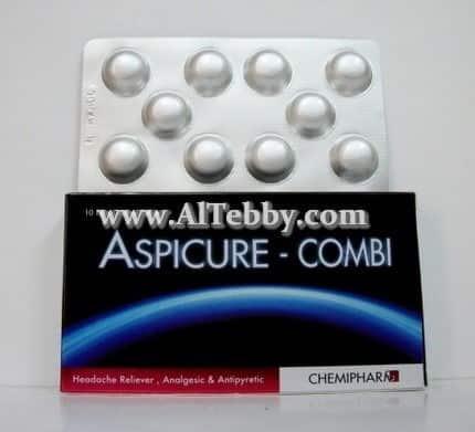 دواء drug اسبيكيور كومبي Aspicure-Combi