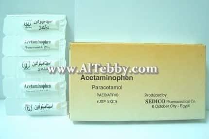 دواء drug اسيتامينوفين Acetaminophen