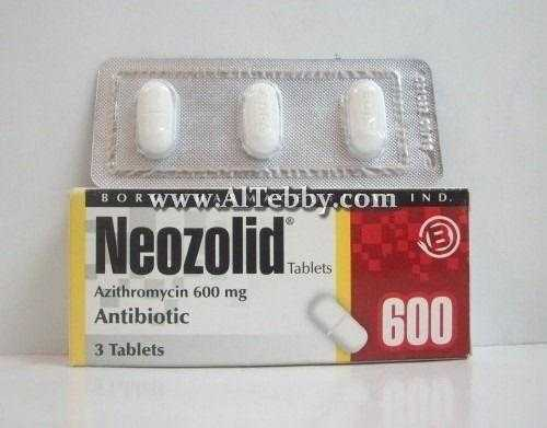 نيوزوليد Neozolid دواء drug