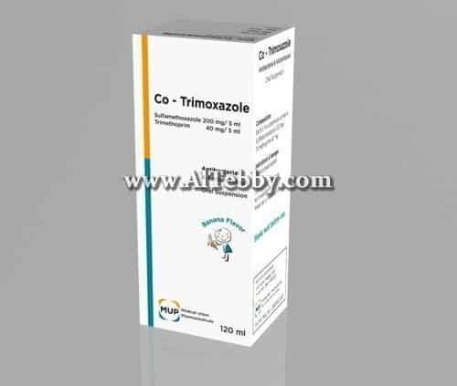 كو-ترايموكسازول Co-Trimoxazole دواء drug