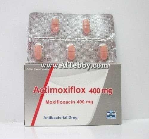 أكتيموكسيفلوكس Actimoxiflox دواء drug