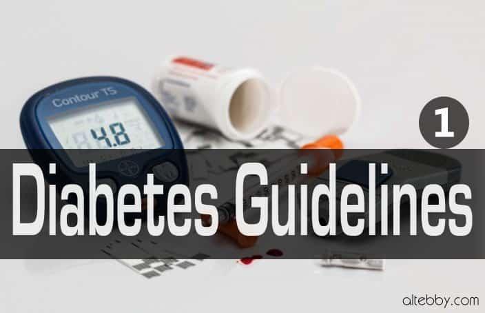 Diabetes Guidelines prediabetes
