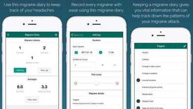 تطبيق يوميات الشقيقة - Migraine Diary