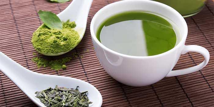 خلاصة الشاي الأخضر