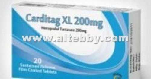 دواء drug كارديتاج إكس إل Carditag XL