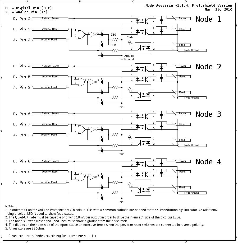 medium resolution of circuit diagram for the four port node assassin v1 1 4 protoshield variant