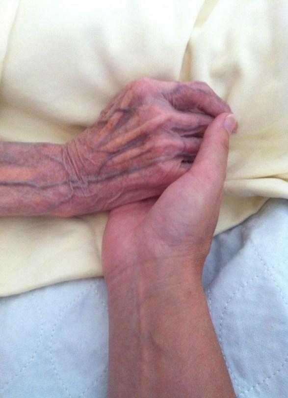 Palliative Begleitung (Foto: CC-BY-SA Andrea Scheller)