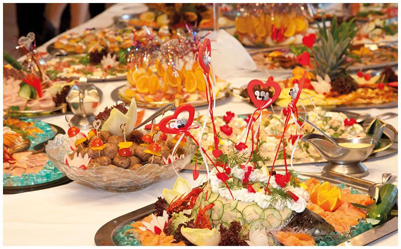 Hochzeitsmens und Buffetvariationen im Alten Landkrug