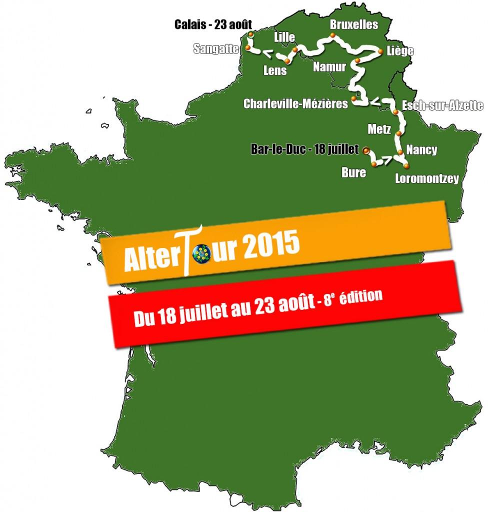 Parcours AlterTour 2015