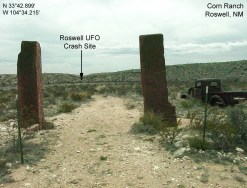 Roswell crash site