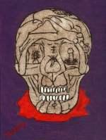 Gacy sex skull painting