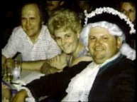 John Wayne Gacy with his wife at a party
