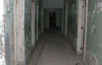 Hallway in Athens Mental Hospital