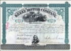 Keely Motor stock certificate