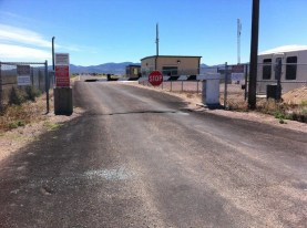 Entrance to Area 51