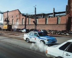 Damage to zinc plant from Russian meteor